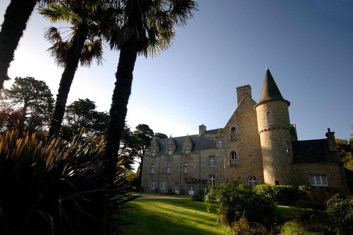 chambres d'hotes de charme en france - Château de Kergouanton - Perros-Guirec